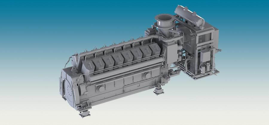 Motore GE16V228