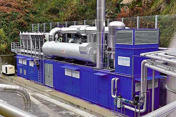 Cogeneratore in container intergen