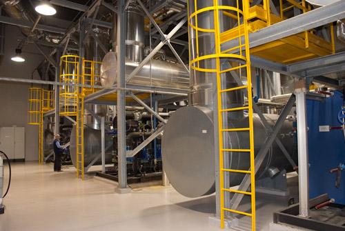 impianto cogenerazione san raffaele